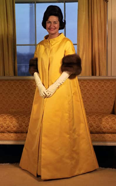 Lady Bird Johnson, 1965