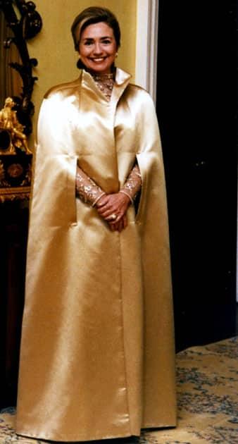 Hillary Clinton at the 1992