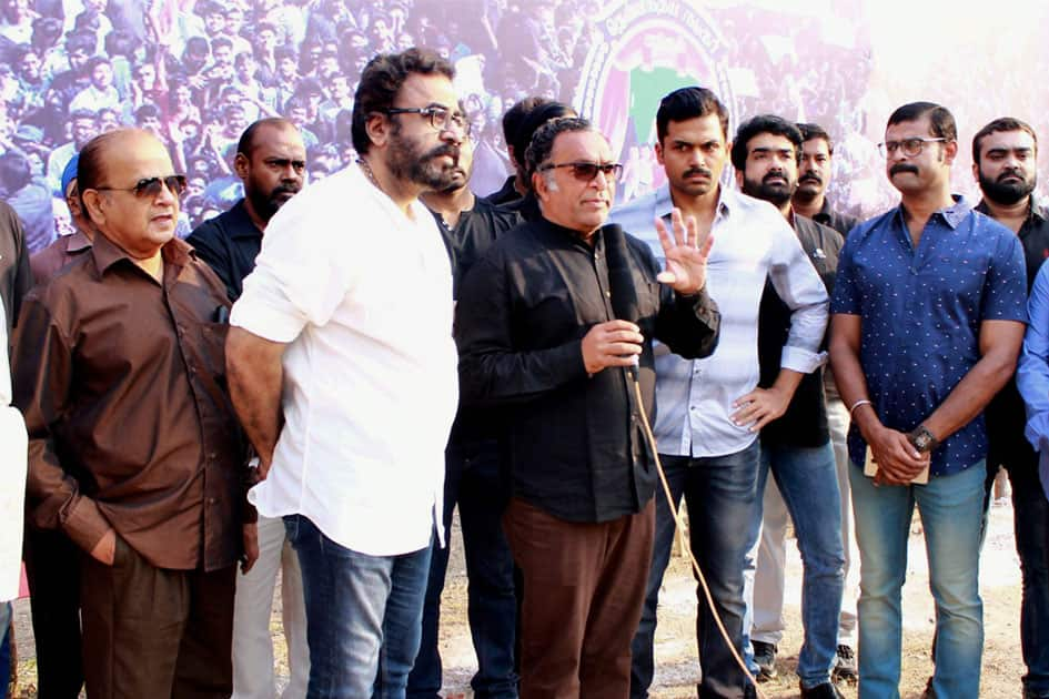 South Indian Artistes support Jallikattu