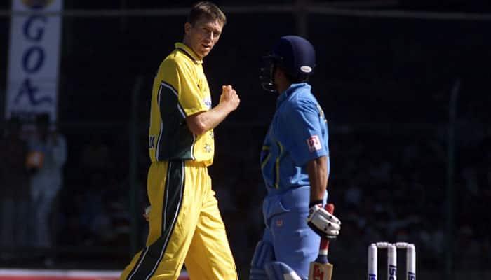 I have been sledged by Sachin Tendulkar, says Australian legend Glenn McGrath