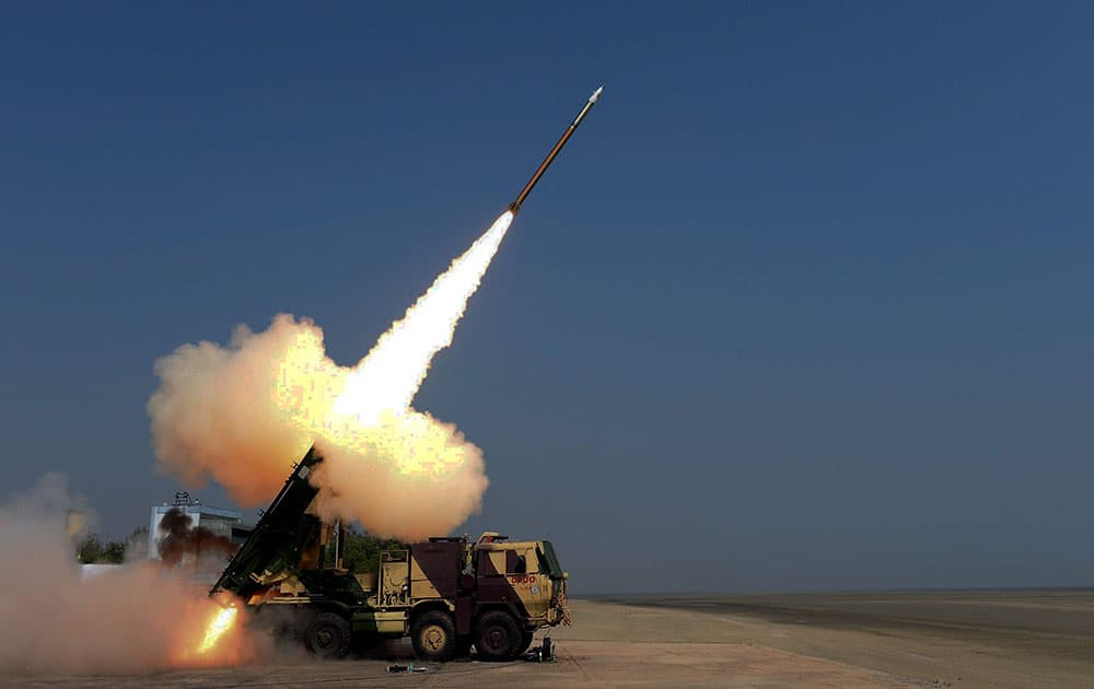 Pinaka rocket successfully test-fired