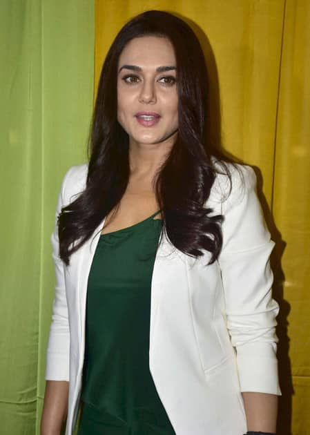 Preity Zinta at shoot