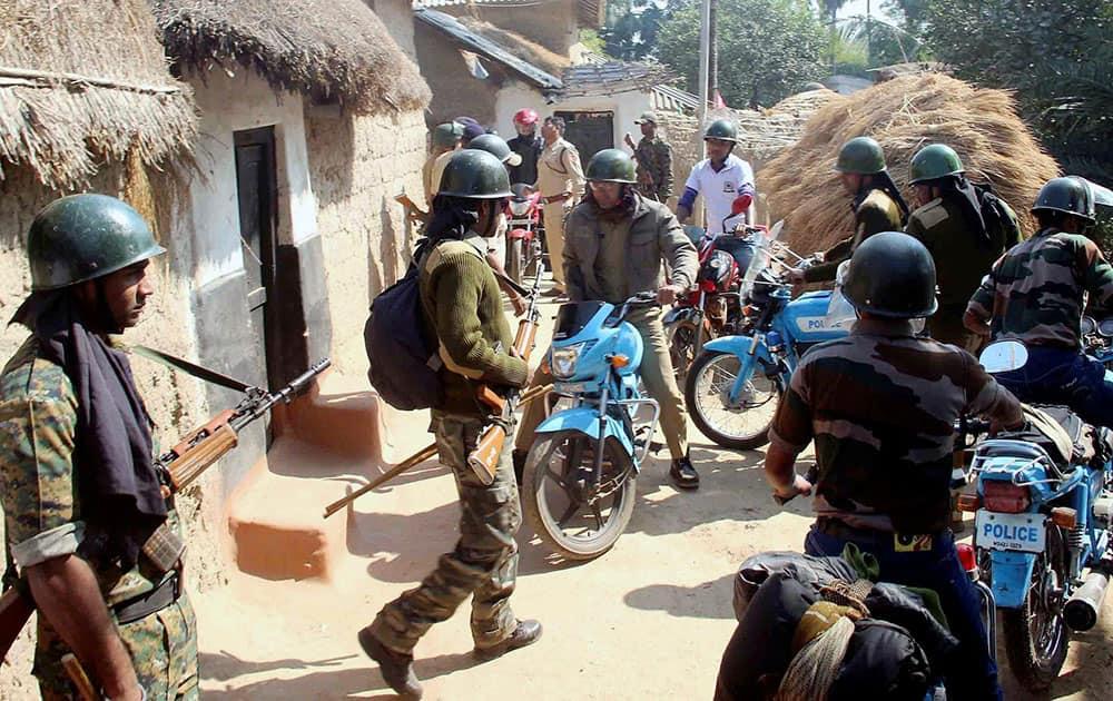 Security at Burdwan