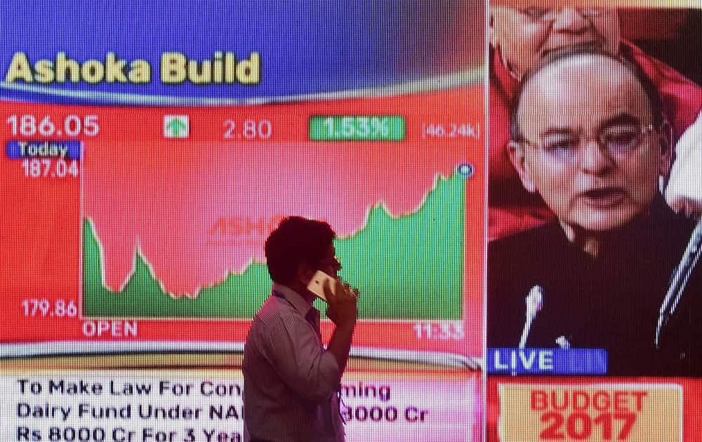 Budget impact on stocks