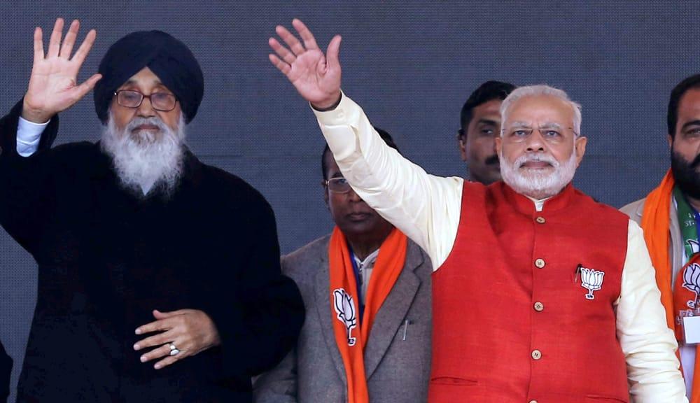 PM addresses rally in Jalandhar