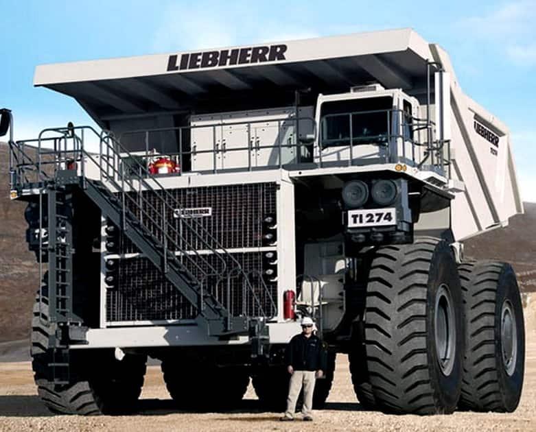 Liebherr T 282B Truck