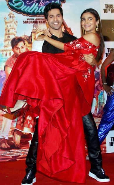 Badrinath Ki Dulhaniya trailer launch