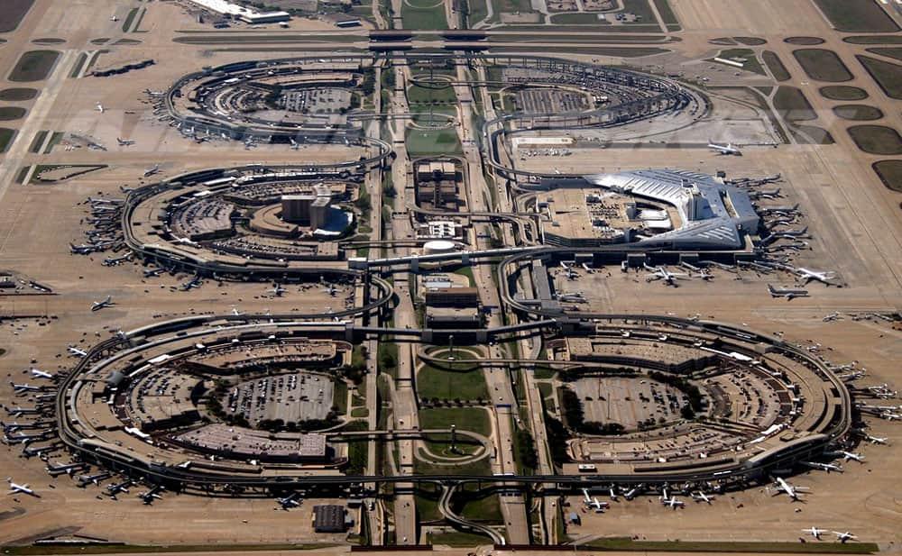 Dallas/Fort Worth International Airport, U.S. state of Texas