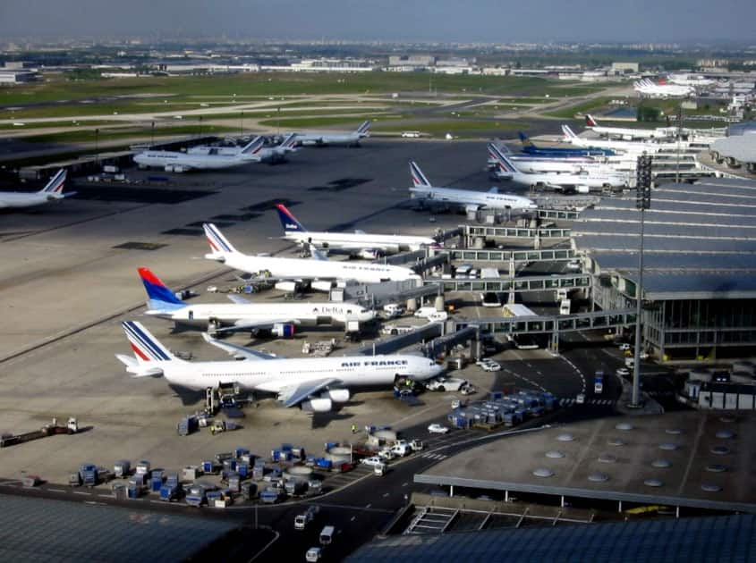 Charles de Gaulle Airport, France