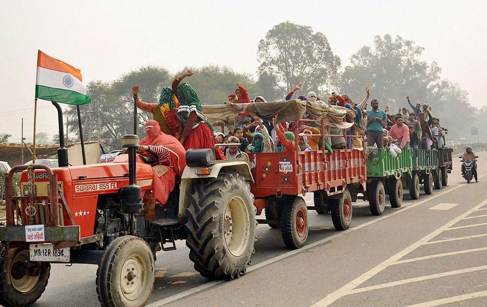 Jat agitation in Rohtak