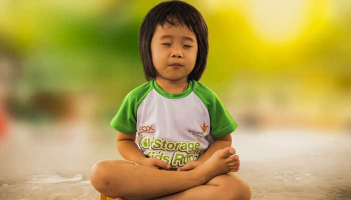 Here's how you can inspire your children to meditate