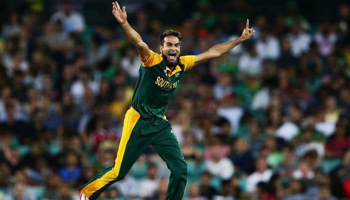 South African Imran Tahir becomes No.1 ODI bowler, Faf du Plessis breaks into top 5 of batsman standings
