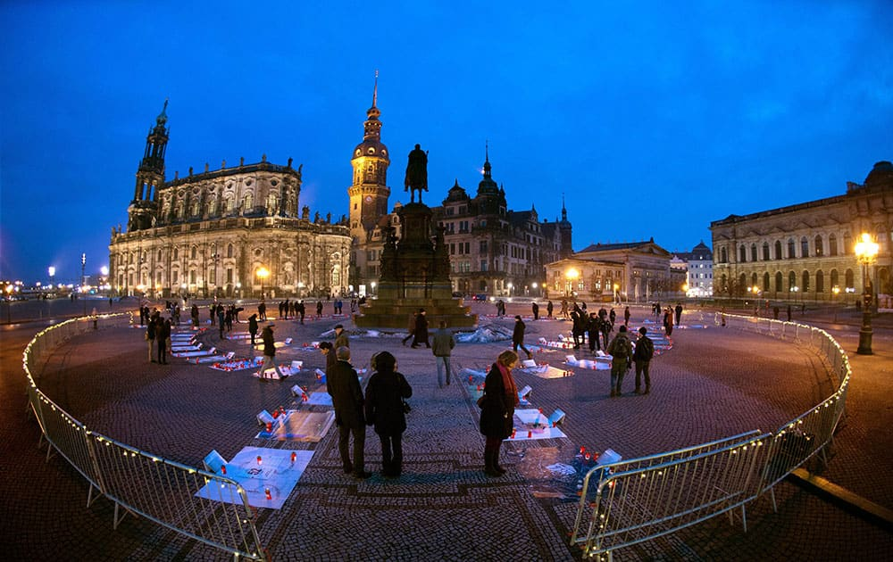 Anniversary of the destruction of Dresden