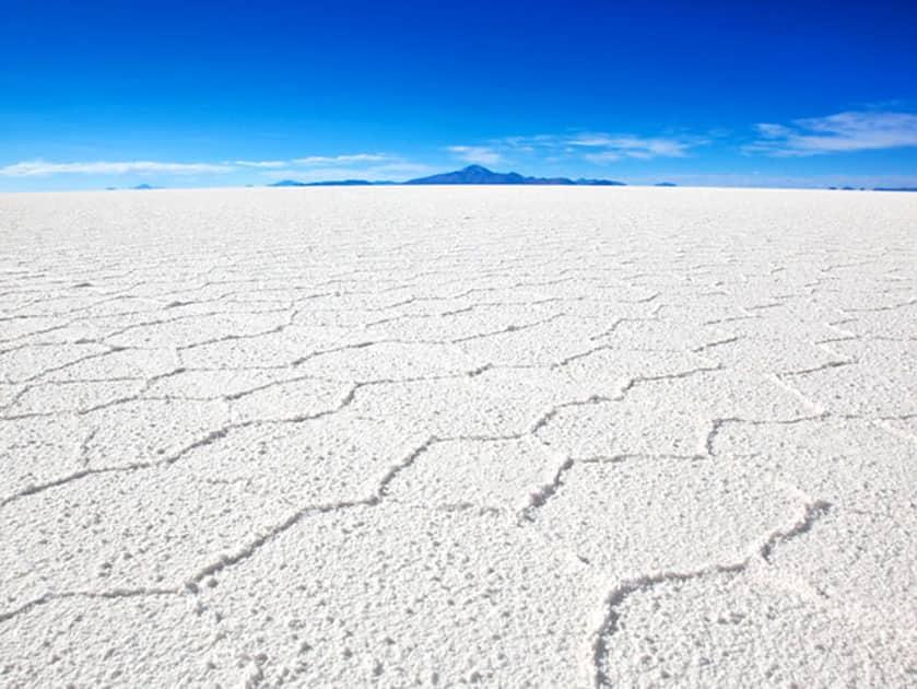 The White Salt desert of the Great Rann of Kutch