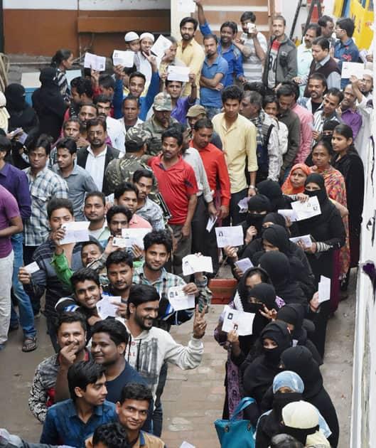 Third phase of polling in UP