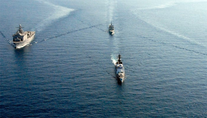 United States deploys aircraft carrier in South China Sea, calls it 'routine' patrol