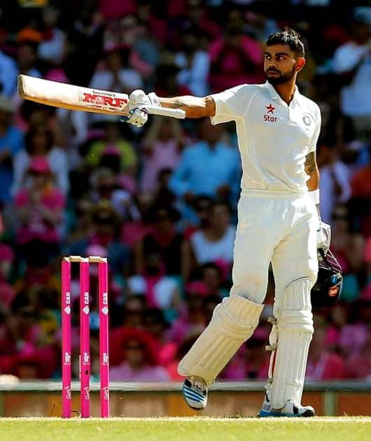 He is currently two short of Sunil Gavaskar's