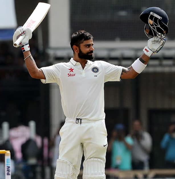 In the 2015 Test series against Australia