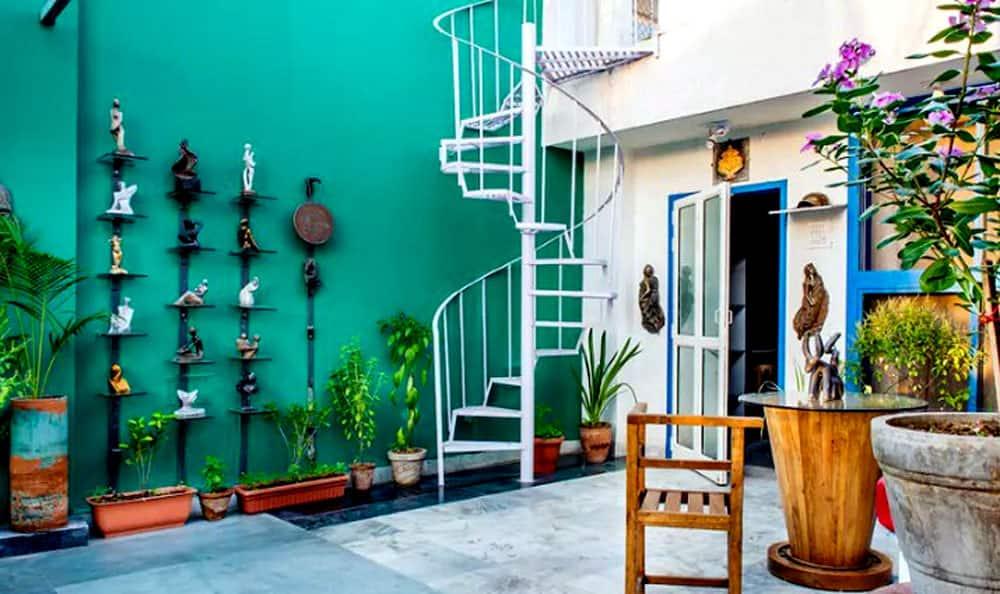 The Artist's Studio In Rajasthan