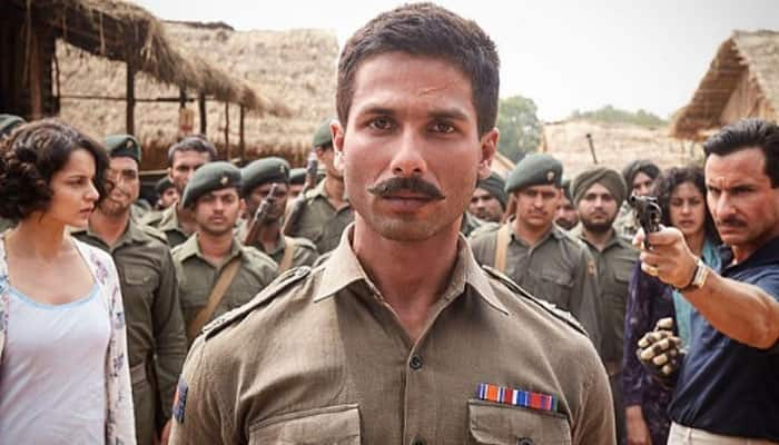 Rangoon movie review: Strong performances by Kangana, Shahid and Saif Ali Khan create 'bloody hell' saga!
