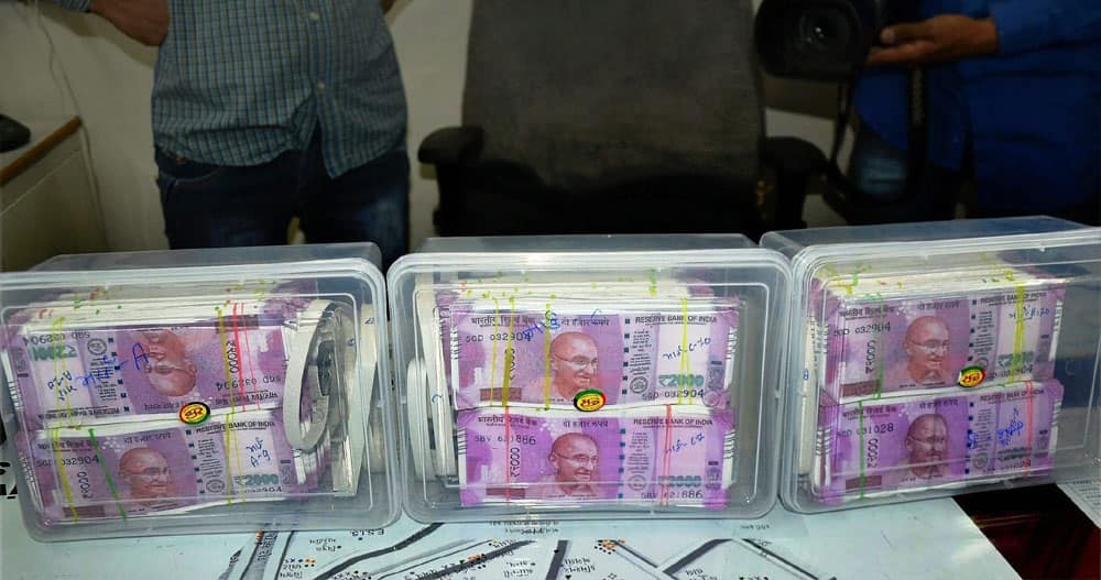 Police seize fake Rs 2,000 notes