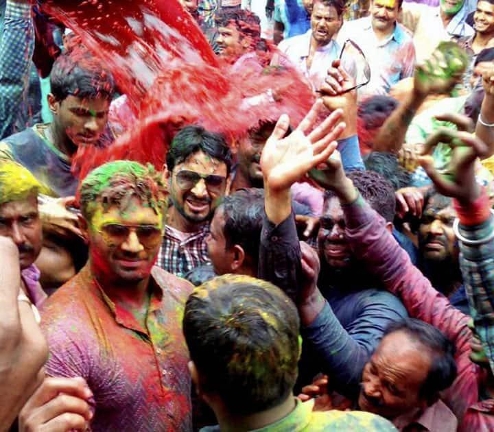 Chirag Paswan celebrate up-comming Holi festival