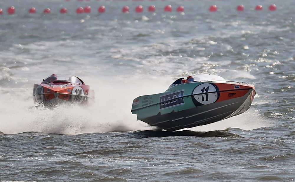 Powerboat racing event in Mumbai