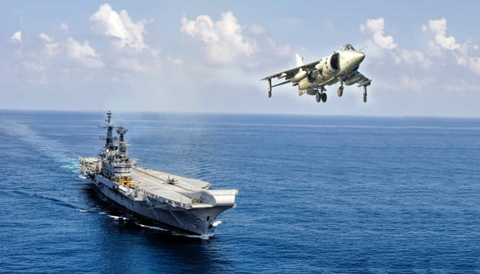 Aircraft carrier INS Viraat sails into history - In Pics