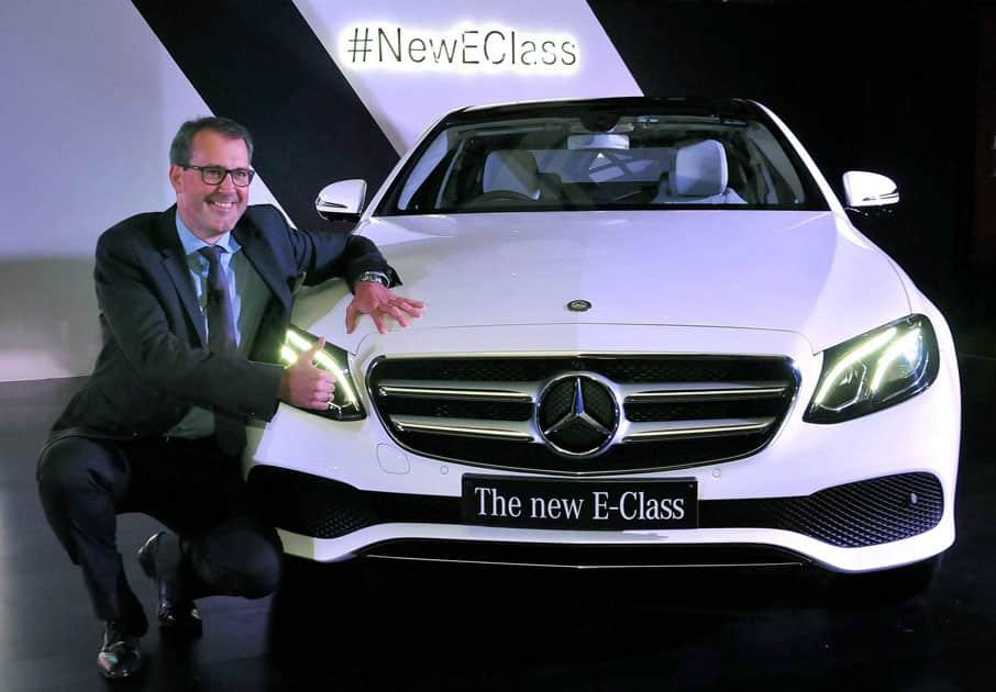 Mercedes launches New E-Class