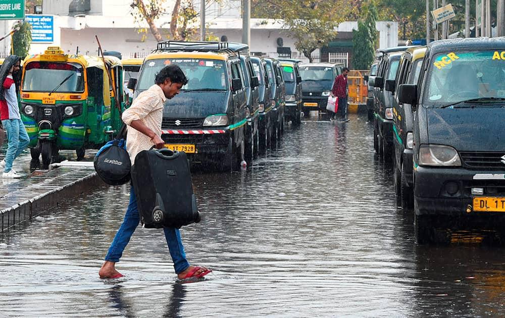 rains in New Delhi