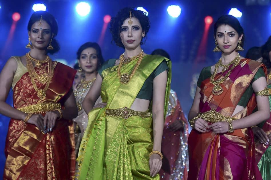 Jewellery India fashion show in Chennai