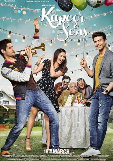 Rishi Kapoor for Kapoor And Sons