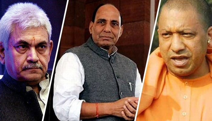 With Keshav Prasad Maurya out of CM race, spotlight shifts to Manoj Sinha, Rajnath Singh; Yogi Adityanath not ruled out too