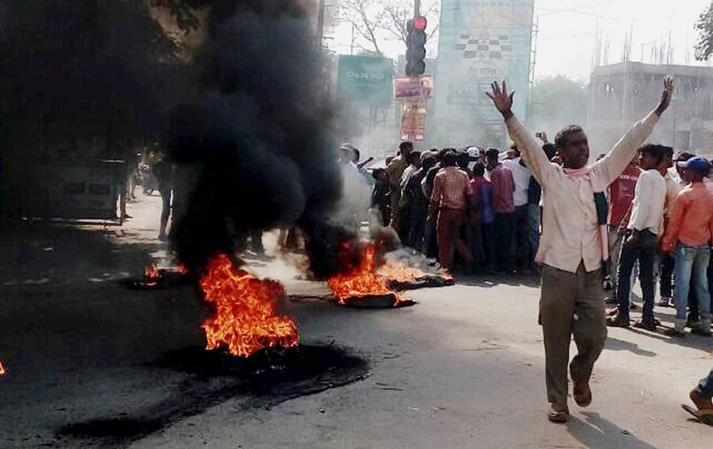 Protest in Patna