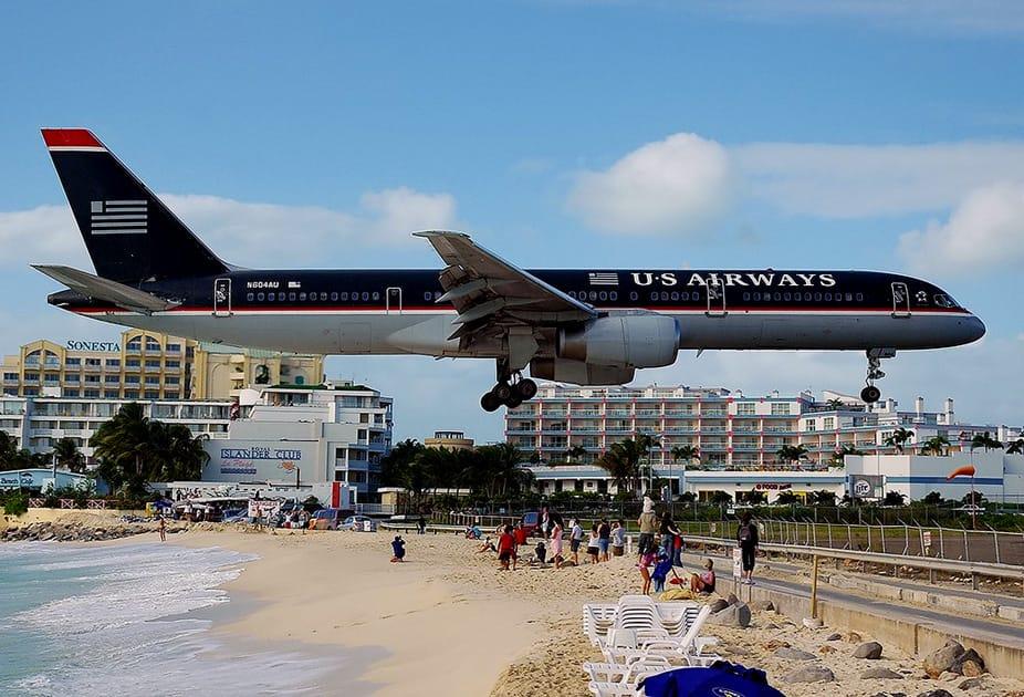Landing at Princess Juliana International Airport