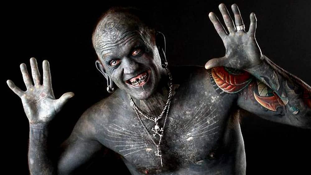 Most Tattooed Man