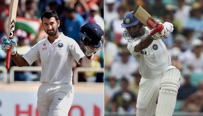 Cheteshwar Pujara breaks Rahul Dravid's long-standing record of ...