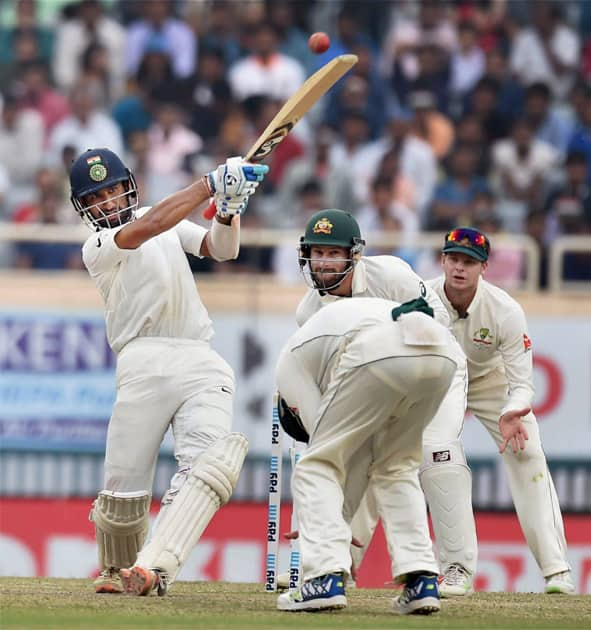 Test match between India and Australia