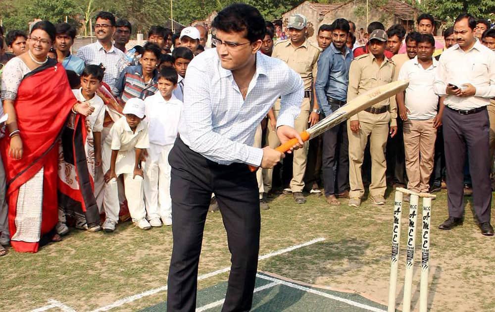 Sourav Ganguly at an event