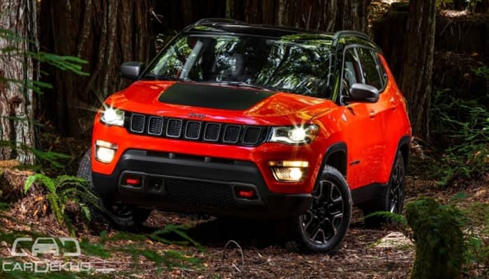 Made in India Jeep Compass to be unveiled on April 12