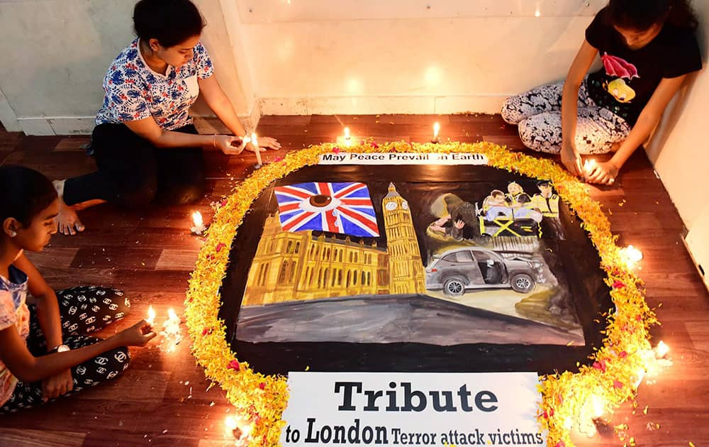 Tributes to London terror attack victims