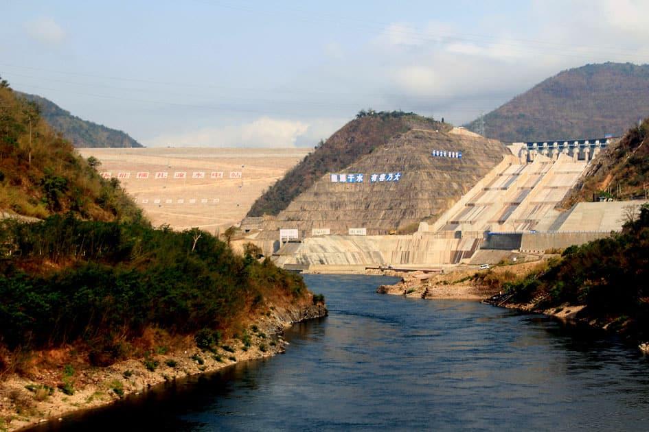 Nuozhadu Dam