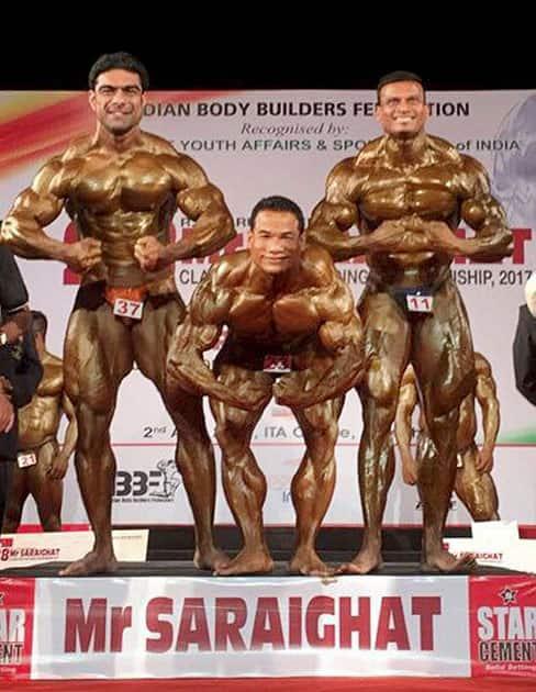 Mr. Sariaghat R.G Baruah Memorial classic body building championship 2017