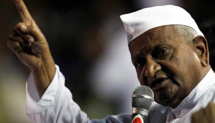 Anna Hazare plans `satyagraha`, says Narendra Modi govt failed to implement Lokpal Act