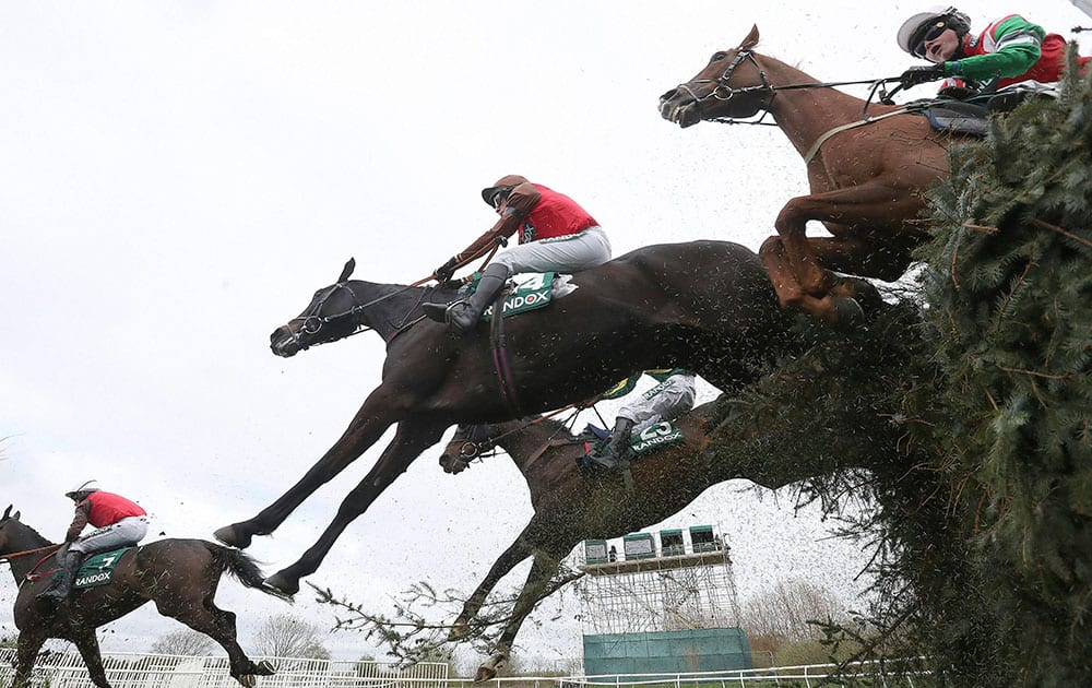 Foxhunters Open Hunters Chase event