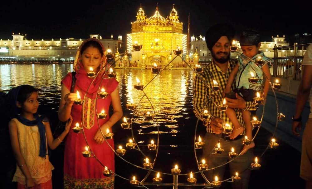 Baisakhi festival at Amritsar