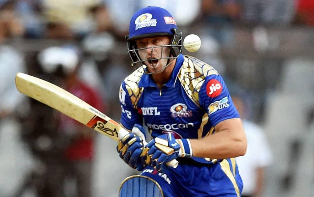 os Buttler plays a shot during the IPL match