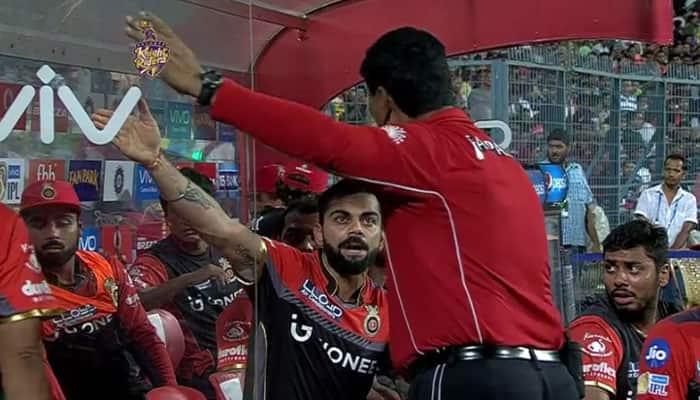 IPL 2017, KKR vs RCB: Fuming Virat Kohli gives an earful ...