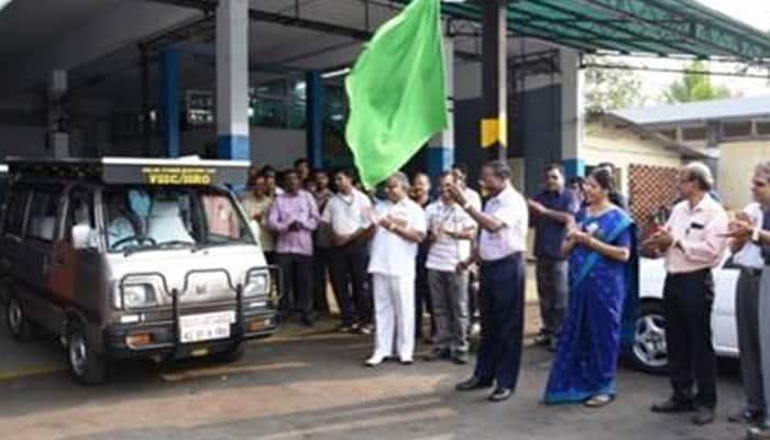 Unveiled - ISRO's solar hybrid electric car