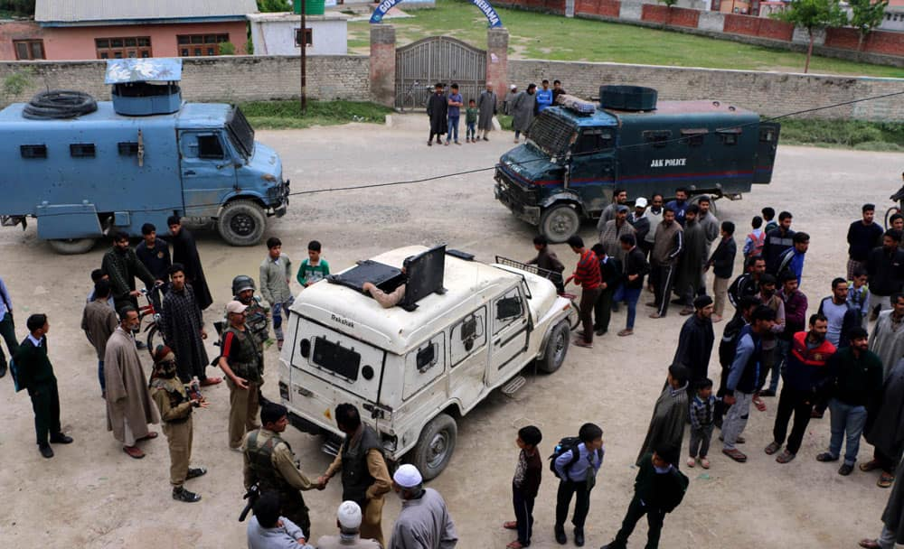 Banks looted in Pulwama